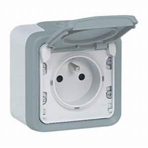 Prise électrique Extérieure étanche Legrand : prise de courant 2p t legrand plexo tanche complet gris ip55 069731 ~ Dallasstarsshop.com Idées de Décoration