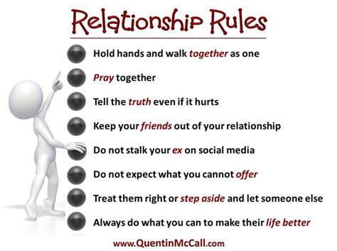 Relationship Rules Quotes