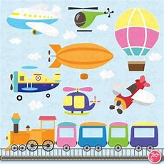 Transportation Clip Art Cute Transportation