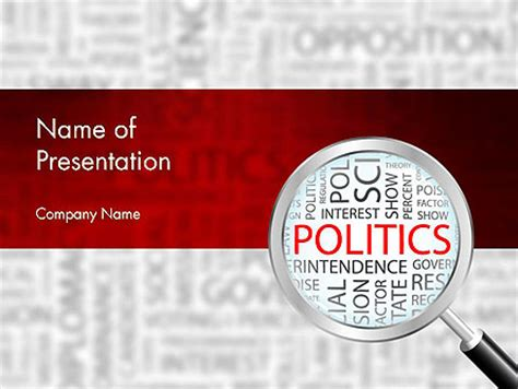 politics powerpoint template backgrounds