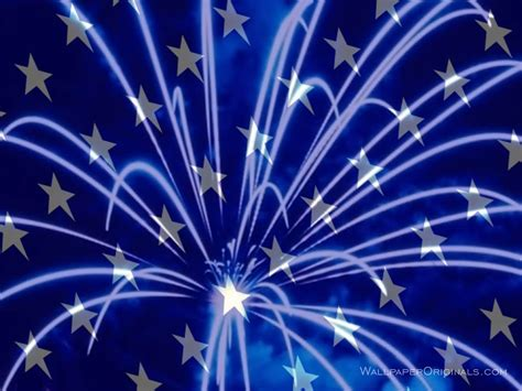 Free Animated 4th Of July Wallpaper - blue fireworks wallpaper see to world