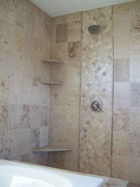 accent tile in shower tiny open shower design inspiration featuring simple marble wall tile and argyle marble wall