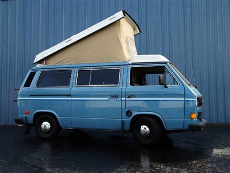 1983 Vw Vanagon Westfalia Camper For Sale In Spokane, Wa