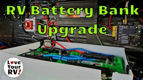 Upgrading Battery Bank For Dry Camping Youtube