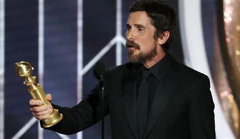 Golden Globes Christain Bale Thank You Satan
