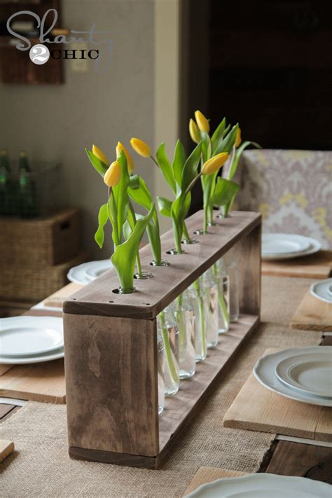 wine bottle centerpieces budget friendly   chic