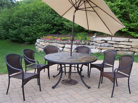 tuscany 9 pc outdoor dining set express home decor