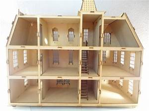 Casa De Muñecas Bostoniana Rompecabezas 3d Hecha Madera Mdf $ 790 00 en Mercado Libre