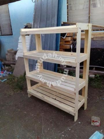 rak kayu pallet pine furniture decoration  sale