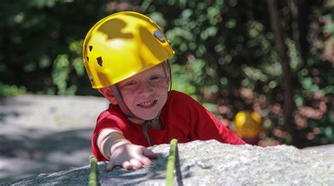 Rock Climbing Camp High Rocks Boys Summer