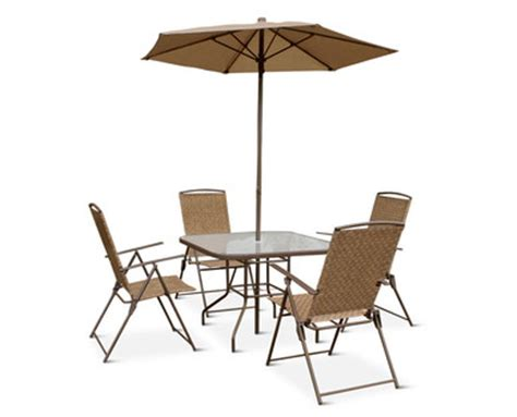 aldi us gardenline 6 piece patio set
