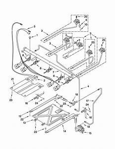 Manifold Parts Diagram  U0026 Parts List For Model Wfg381lvs1