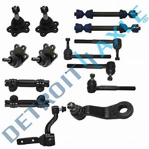 New 14pc Complete Front Suspension Kit For 88