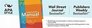 Amazon Com  Publication Manual Of The American