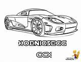 Koenigsegg Coloring Ccx Pages Cool Maserati Supercar Template Race Cars Super Yescoloring Striking Boys Templates sketch template
