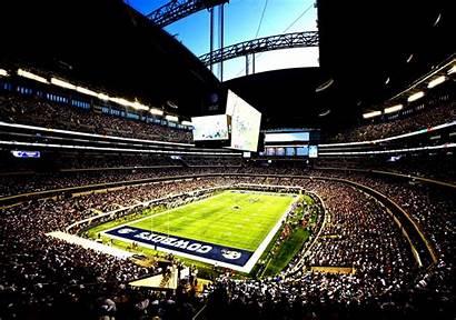 Cowboys Dallas Stadium Texas Football Att Fans