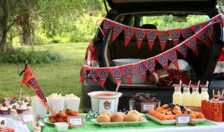 Tailgate Party Decoration Ideas