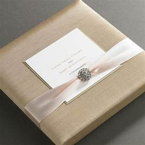 elegant wedding invitations in a box wwwimgkidcom With how to make wedding invitations box