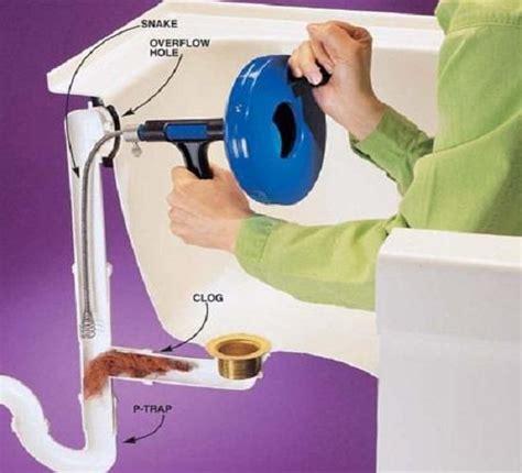 problem  bathtub clogged images  pinterest