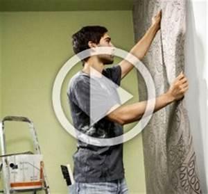 Vliestapete Tapezieren Untergrund : wand verkleiden und tapezieren anleitung von hornbach schweiz ~ Watch28wear.com Haus und Dekorationen