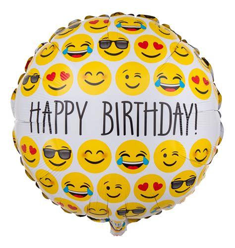 Emoji Ballon Als Geburtstagsballon Ballongruessede