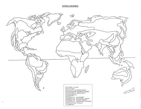 biome map worksheet free worksheets library and
