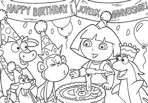 Coloring Pages: Dora Coloring Sheets On Dora Halloween