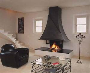 cheminee sur mesure hmb 006 With decoration hotte de cheminee