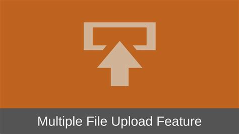 How To Design The Multiple File Upload Feature Of A Web App?