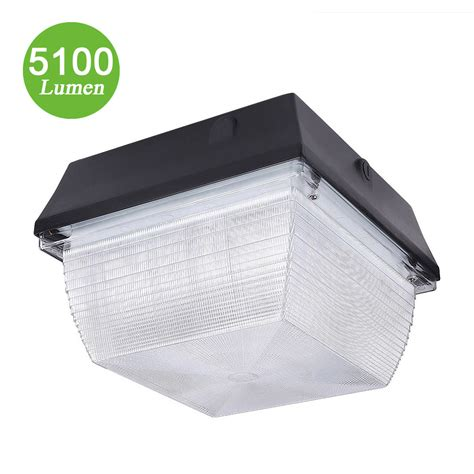 Led Canopy Light Fixtures by 60w Led Canopy Light Fixture 150w 5100lm Ip65 Daylight Le