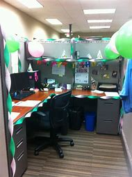 Office Cubicle Birthday Decorations