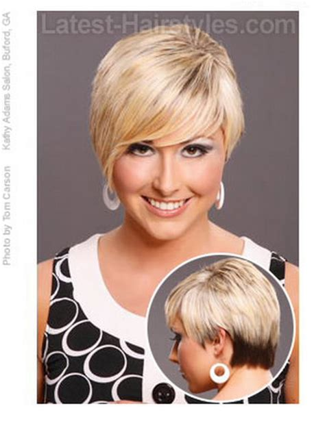flattering short hairstyles  oval faces hd short