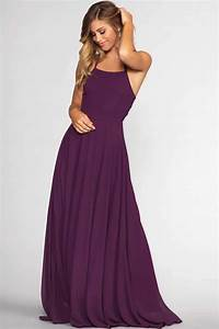 Fairytale Ending Maxi Dress - Eggplant by Priceless