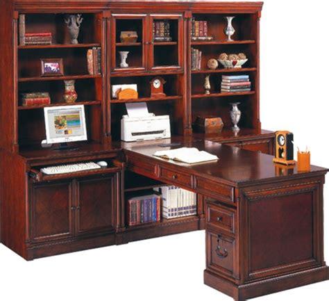martin cherry wood home office furniture  computer desks