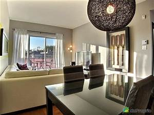 condo vendu montreal immobilier quebec duproprio 454520 With salle a manger et salon