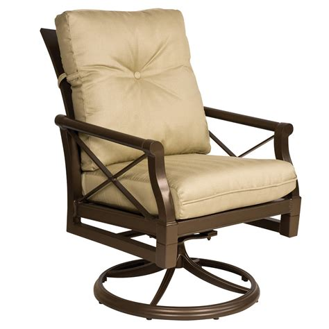 woodard 510472 andover cushion outdoor swivel rocker