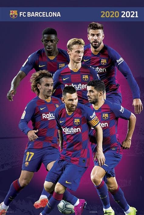 FC Barcelona 2020/2021 Poster | Sold at Europosters