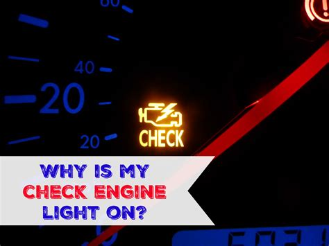 check engine light on why is my check engine light on