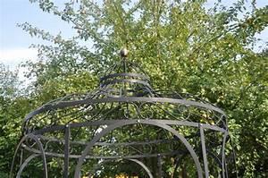Gartenpavillon Aus Metall : stabiler gartenpavillon metall schwarz pavillon eisen ~ Michelbontemps.com Haus und Dekorationen