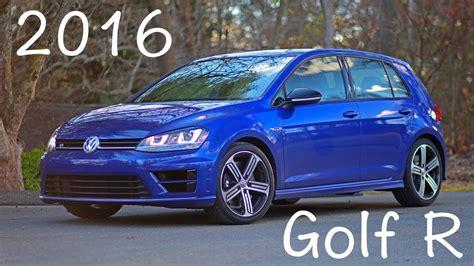 2016 Vw Golf R Mk7 Review