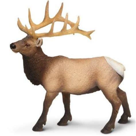 elk toy miniature replica bull elk  animal world