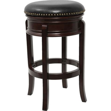 leather backless counter stools flash furniture 24 backless cappuccino wood counter 6884