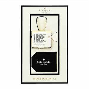 kate spade new york rotating stamp ink set octer gbp With rotating letter stamp