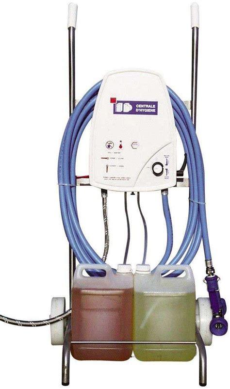 centrale de lavage cuisine chariot mobile inox pour centrale de lavage et desinfection