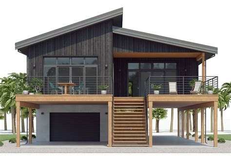 pin  ivan henry  house plans   coastal house plans garage house plans house  stilts