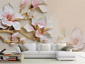 3D Wallpaper Living Room Mural Roll Modern Background ...