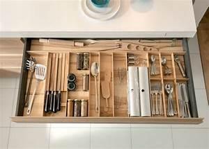 Rangement Cuisine Meuble : meuble moderne pour cuisine bois d 39 ambiance authentique ~ Teatrodelosmanantiales.com Idées de Décoration