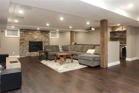 modern furniture kitchener basement renovations