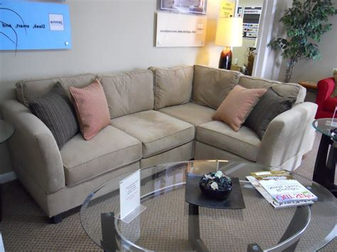 small scale loveseat modular sectional sofas small scale loccie better homes