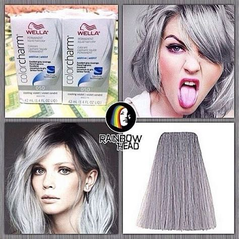 wella color charm 050 best 25 wella cooling violet ideas on grey